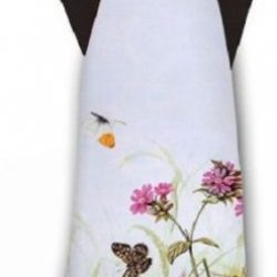Flower and Butterfly Scarf