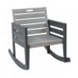 English Garden Range Rocking Chair with Pad Greywash Grey