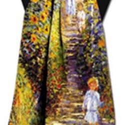 Garden at Vetheuil by Monet Scarf