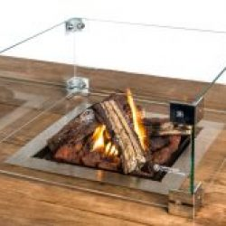 Happy Cocooning Cocoon Large Square Gas Fire Pit